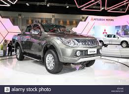 mitsubishi sports car 2014 bangkok november 28 mitsubishi all new triton car on display at