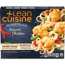 are lean cuisines healthy sesame chicken marketplace lean cuisine lean cuisine