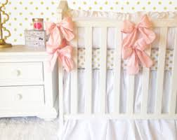 Pink And Gold Nursery Bedding Black And White Stripe With Gold Crib Sets For Girls Fancy