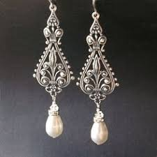 vintage wedding earrings chandeliers chandelier wedding earrings vintage bridal earrings swarovski