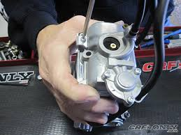 r d float bowl crf s only how to install the honda updated accelerator kit