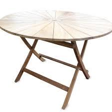 folding teak wood outdoor dining furniture vivaterra