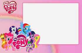 free printable invitations my little pony party free printable invitations is it for
