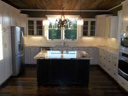 maple wood bright white amesbury door barn kitchen cabinets