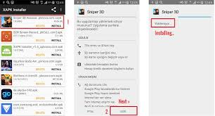 how to install apk on android phone apkmania what is xapk how to install xapk apk obb