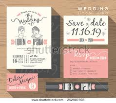 Save The Date Invitation Save The Date Invitation Stock Images Royalty Free Images