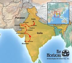 Bombay India Map by India Tour Through Gujarat And Rajasthan Far Horizons