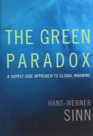 the green paradox a supply side approach to global warming mit