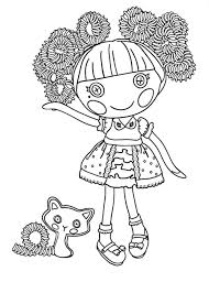 lalaloopsy coloring page lalaloopsy doll coloring page for kids