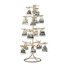amazon com gold wire ornament tree display by the bradford