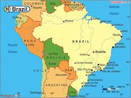 map of brazil south america brazil ridgway research