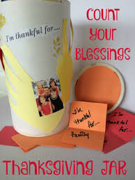 count your blessings thanksgiving jar easy thanksgiving craft for