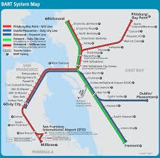 Bart Route Map by Bart Line Map My Blog