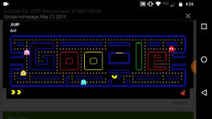 doodle pacman free pac to play in