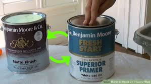 Paint Peeling Off Interior Walls How To Paint An Interior Wall 13 Steps With Pictures Wikihow