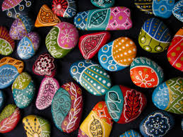 rock painting ideas for home decor art craft projects loversiq
