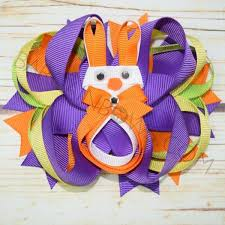 boutique bows pumpkin bunny boutique bow bargain bows