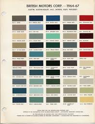 color codes for paint ideas 1970 color codes ford paint cross