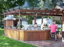 263 best outdoor kitchen images on pinterest outdoor kitchens