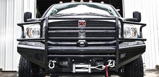 dodge prerunner bumper black steel front bumper fab fours