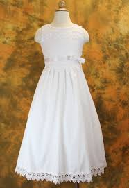 simple communion dresses communion dress cotton with floral embroidered bodice hemline