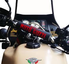 traversino manubrio moto pad paracolpi manubrio moto guzzi enduro cafe racer