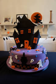 Halloween House Decorations Uk by Haunted House Cake Decorations House Interior