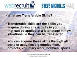Transferable Skills Resume Sample by Transferable Skills Examples Personal Skills On Resume Format