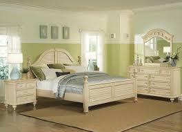 furniture vintage oak wood bedroom furniture with white fur rug