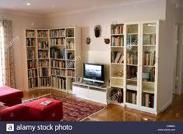 lounge room bookshelves stock photo royalty free image 34539298