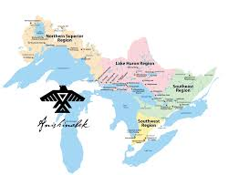Map Of Ontario Union Of Ontario Indians U2013 About Us