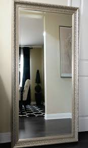 modern silver floor l wayfair floor mirror all mirrors modern silver floor mirror home
