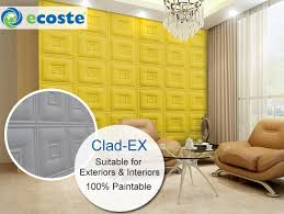 3d Wall Panels India Clad Ex 3d Wall Archives Ecoste India