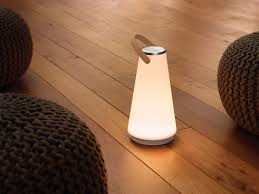 uma sound lantern portable light speaker design milk
