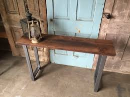 Reclaimed Wood Console Table Decor Reclaimed Wood Console Table For Your Interior Design