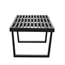 Nelson Bench Replica Samurai Triple Slat Bench Modern Furniture U2022 Brickell Collection