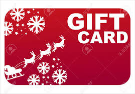 red christmas gift card royalty free cliparts vectors and stock