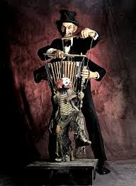 circus puppets the ultimate freak out would be to commission a expensive