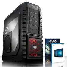 pc bureau avec ssd vibox 1 pc gamer intel 4 radeon rx 470 gaming