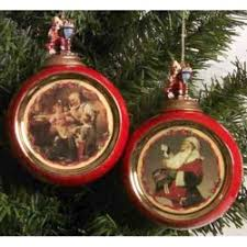 ornaments norman rockwell
