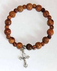 rosary bracelets olive wood jerusalem rosary bracelets from the holy