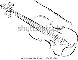 violin sketch stock images royalty free images u0026 vectors