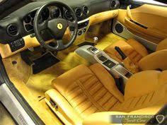 Ferrari 360 Interior Ferrari 360 Modena Yellow And Black And Tan Interior Auto