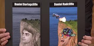 Daniel Radcliffe Meme - fallon tonight on twitter jimmy confronts daniel radcliffe about