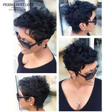 short hairstyle wigs for black women synthetic hair short wigs for black women cheap black pixie cut