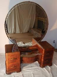 magnificent antique mirrored vanity wonderful bedroom furniture