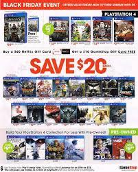 best black friday deals wii u gamestop u0027s black friday deal saves you big money on playstation