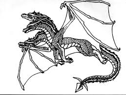 coloring pages of dragons dragon ball z free animal komodo
