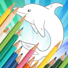 dolphin apk animal coloring for dolphin apk android gameapks