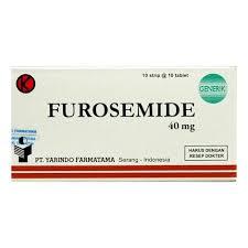 Obat Yarindo furosemide 40mg 100 yarindo